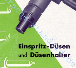 Bosch Einspritzduese und Halter