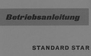 Bedienungsanleitung Porsche Standard Star